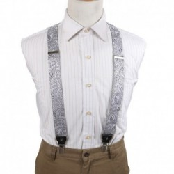 EFBB.02 Series Colors Paisley Microfiber Y-Back Suspender For Casual By Epoint