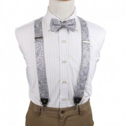 EFCB.02 Fine Pattern Extendable Microfiber Y-Back Suspender For Mens By Epoint