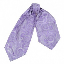 ERA1B01-03 Multi Paisley Cravat Woven Microfiber Mens Ascot Gift Ideas By Epoint