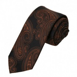 EAE2B.02 Multiple Colors Pattern Gift For Holidays Microfiber Skinny Tie By Epoint