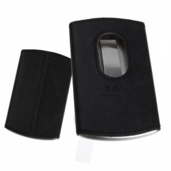 YDA01A Leather Stainless Steel Card Holder with Gift Box Various Colors By Y&G