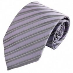 FAA3A3 Best Gift For Men Stripes Classic Fashion Woven Silk Tie Set By FashionOn