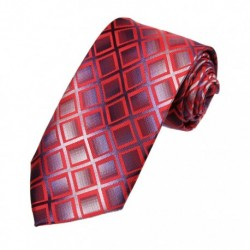 DAA7C.01 Online Shopping Checkered Microfiber Neck Tie For Wedding By Dan Smith
