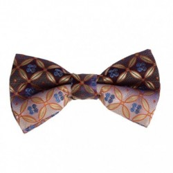 DBD7B01-03 Best Man Gift Patterned Wedding Stain Pre-Tied Bowties By Dan Smith