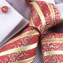 EAC1F02 Luxury Goods Mens Various of Color Silk Tie Set Xmas Gift Idea By Epoint