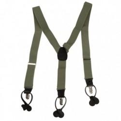 YFA01 Fashion Multicoloured Suspenders Clip-end Brace Y-back By Y&G