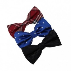 DBE01.01 Various For Party Microfiber 3 Pack Pre-tied Bow Tie Set By Dan Smith