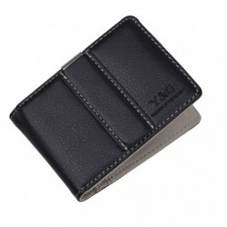 YCM15 Accessories Grey Creative Stainless Steel Leather Money Clip Popular Valentines Day Presents Idea for Father By Y&G